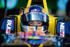 Alex is quickly up to speed as he grabs his Formula One opportunity