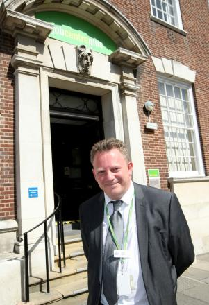 Dave Cope, customer services operations manager for Braintree Jobcentre Plus