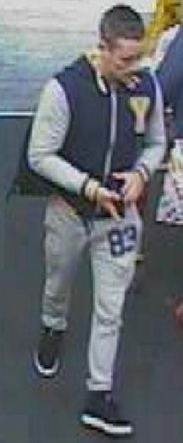 Braintree and Witham Times: Police want to speak to this man in connection with a theft
