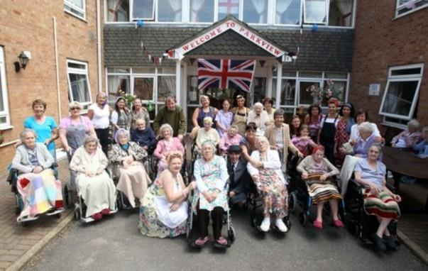 Care home celebrate open day in style