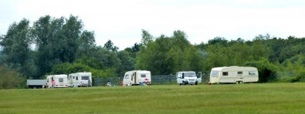 Travellers had previously pitched up at land in Bocking