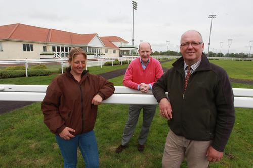 Racecourse almost ready for starter's orders