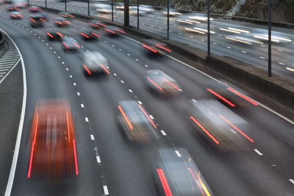 The M25 will be closed between junction 26 and 25