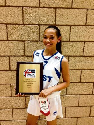 Witham basketball ace shines on the regional stage