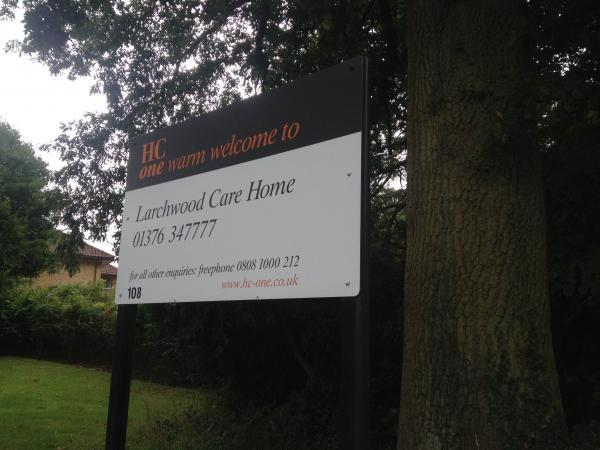Larchwood Care Home has suspended and fired staf