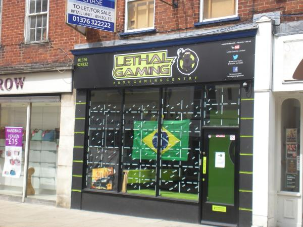 Lethal Gaming, in Braintree's High Street, has closed down