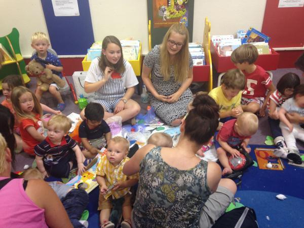 Sensory story time a big success