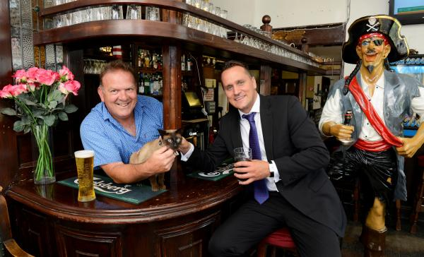 It's all aboard for the new-look Old Ship Inn