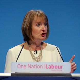Harriet Harman is to highlight a drop in membership income for the Tories in 14 of their 20 most marginal s