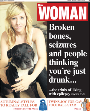 Braintree and Witham Times: Gaz New woman 25th Aug 2014