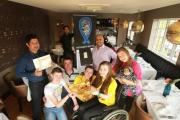 Fundraiser for charities who have helped young woman with incurable condition