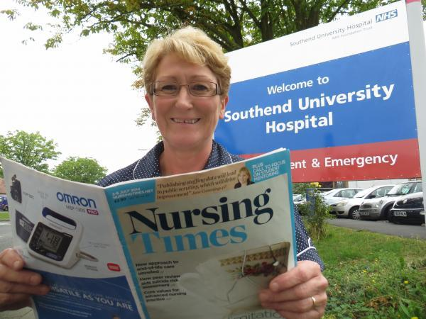 Read all about it – Winifred Chinery has been shortisted for Nurse Leader of the Year