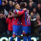 Braintree and Witham Times: Crystal Palace's Dwight Gayle, left, was on target in his side's win