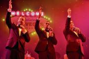 Festive night of classics from spot-on Rat Pack tribute