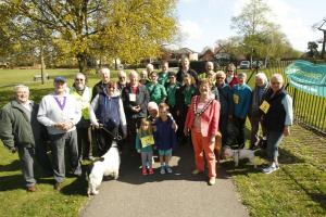 Hundreds of pounds raised for Essex Air Ambulance during sponsored river walk