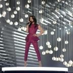 Braintree and Witham Times: Conchita Wurst, who won the 2014 Eurovision Song Contest for Austria, performs on stage during a dress rehearsal (AP)
