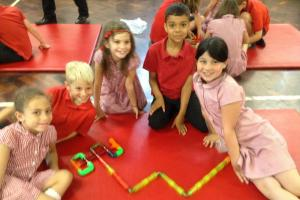 Benyon Primary School pupils rewarded with puzzles