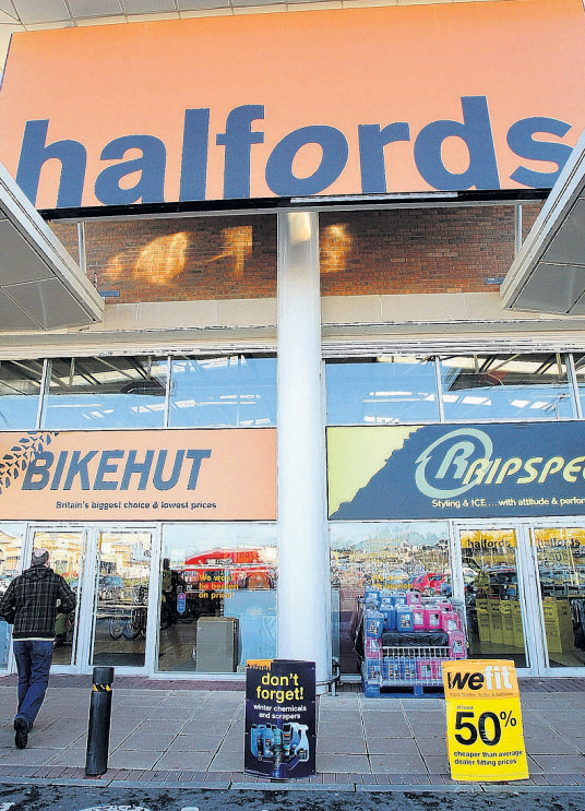 Halfords aims to recruit a trainee for every one of its stores in the UK