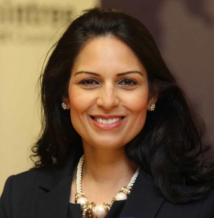 ACTION: Priti Patel has drawn up a plan of action for a new health centre in Witham