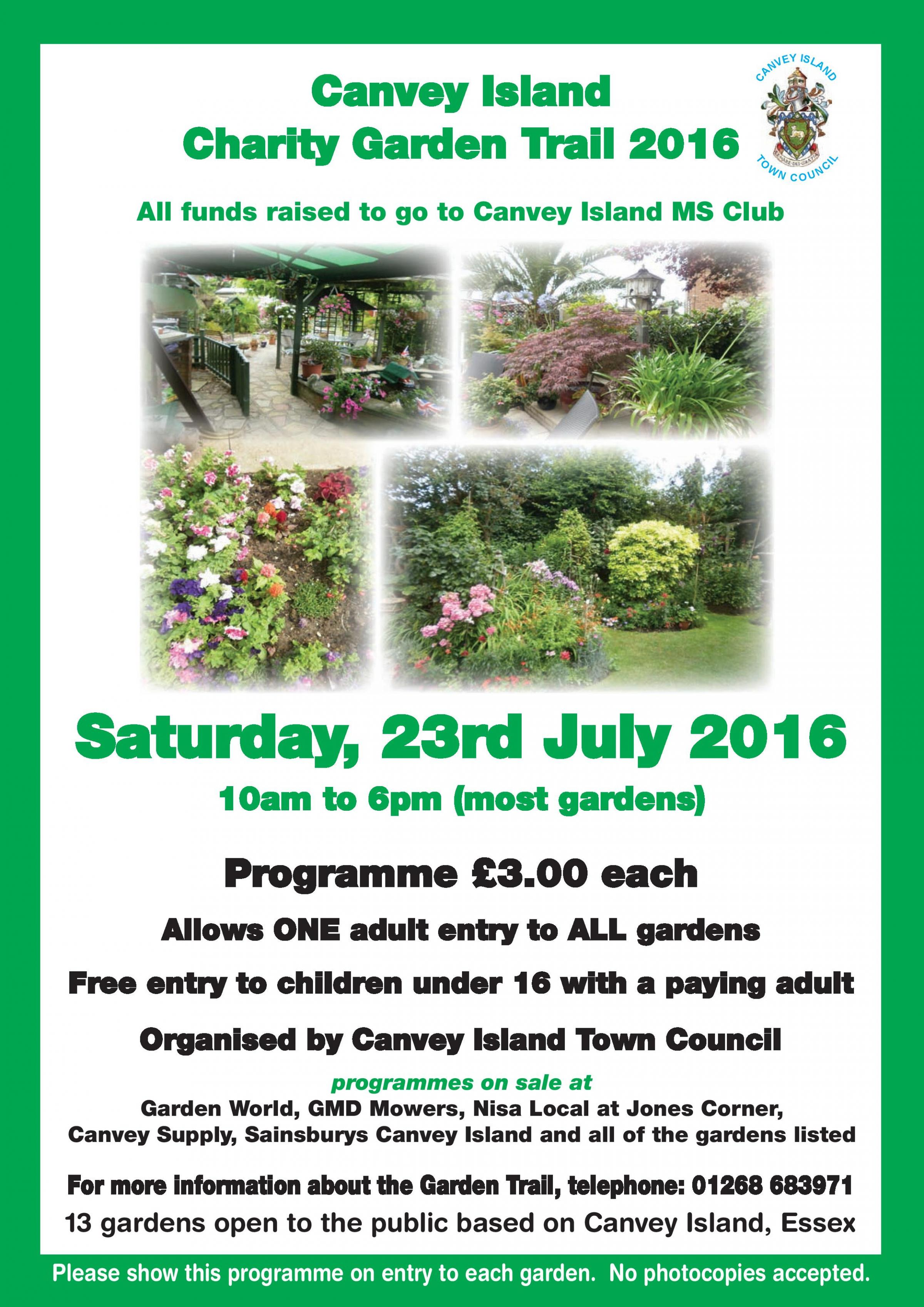 Canvey Island Charity Garden Trail