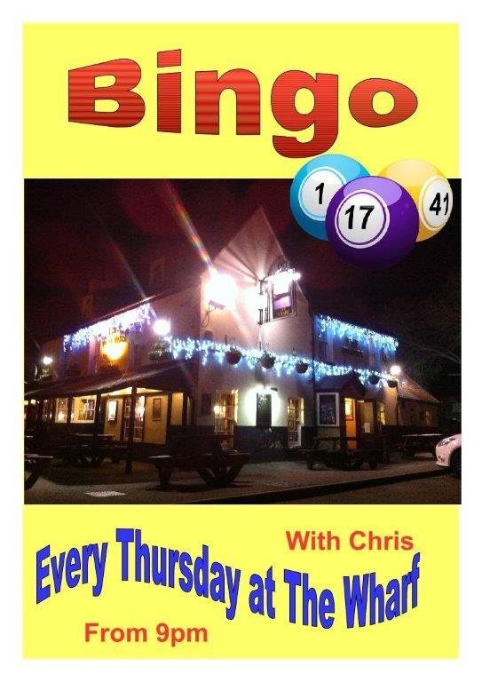 BINGO at The Wharf