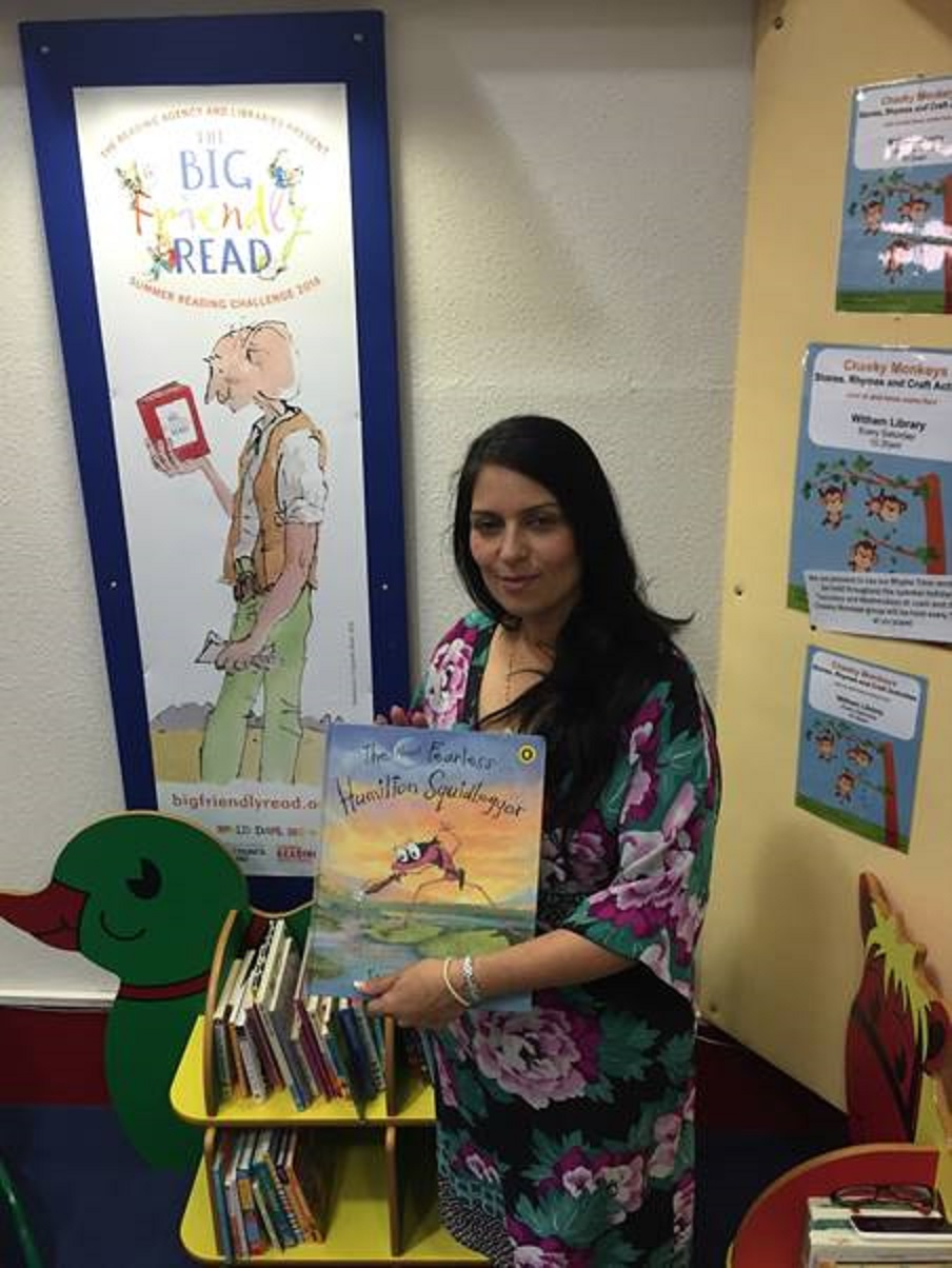 MP encourages constituents to get reading