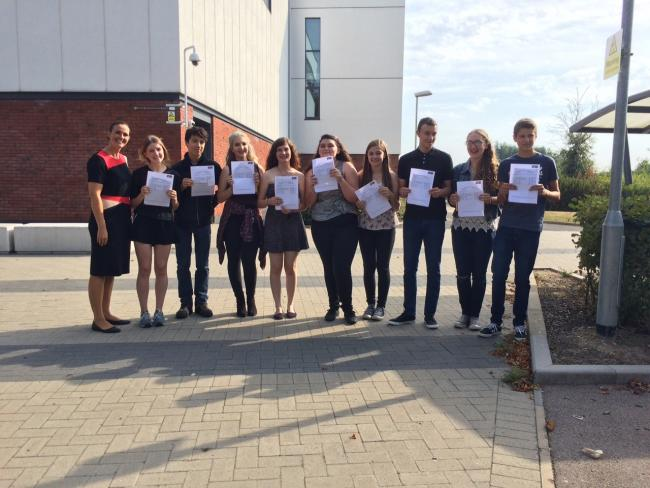 Witham high schools mark best ever GCSE results. Maltings Academy.