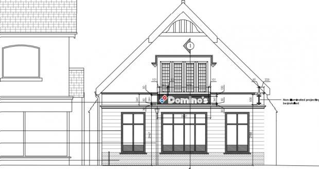 Dominos Pizza Gets Go Ahead For Burnham Store Signs
