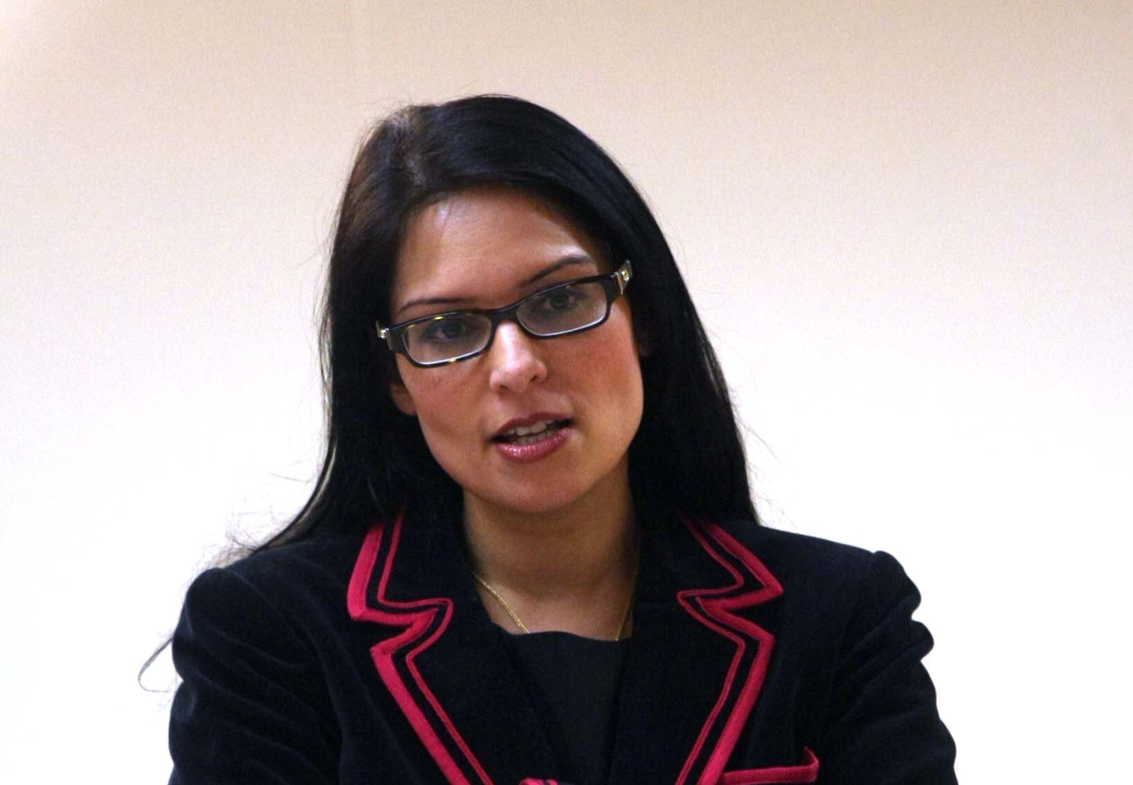 CONCERNING: MP Priti Patel has backed residents campaign to save First Essex's 72 bus