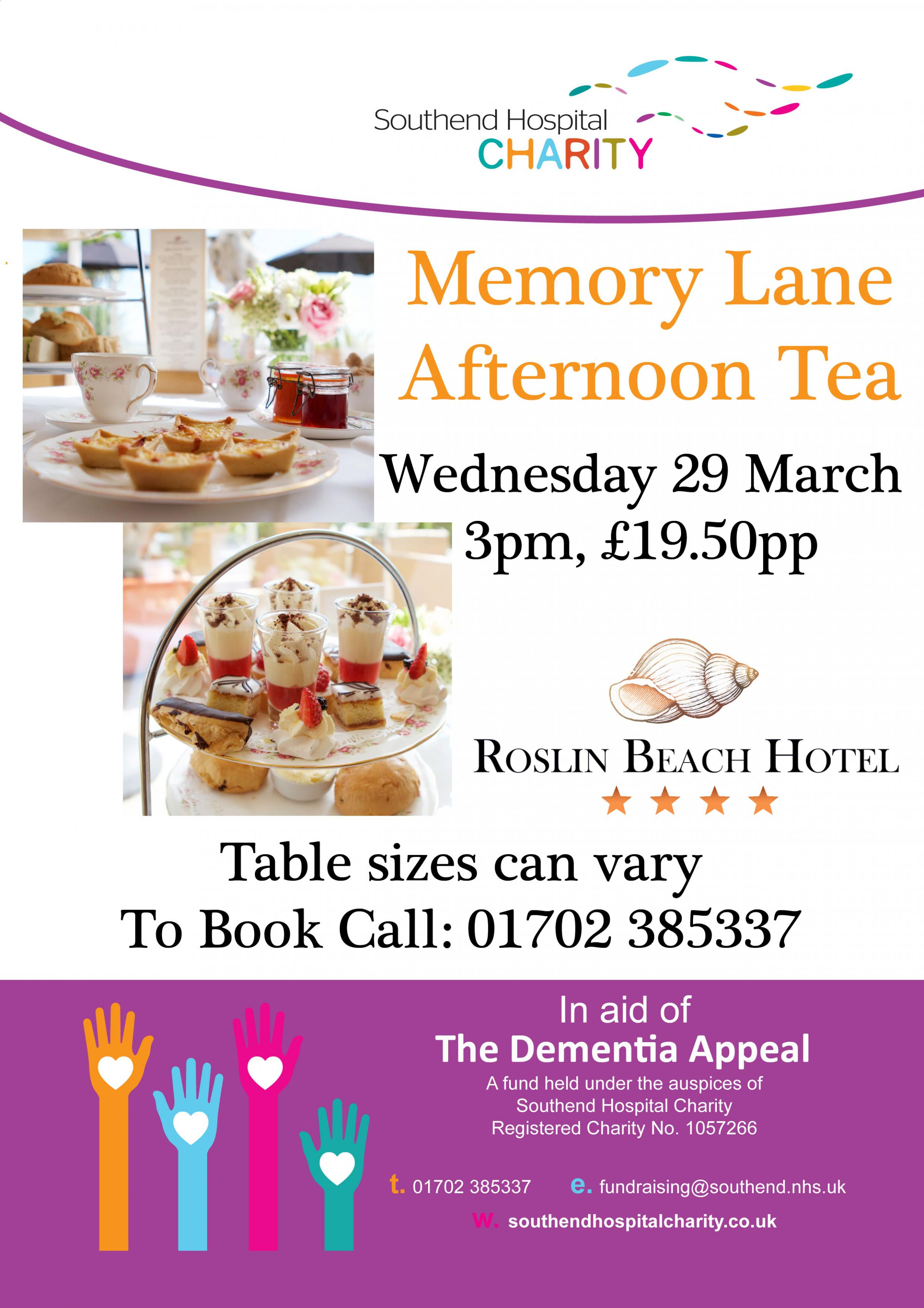 Memory Lane Afternoon Tea