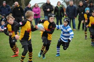 Youngsters enjoy new format as rugby festival celebrates its 20th anniversary