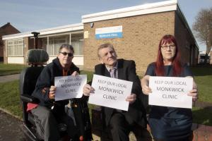 Anger - Councillor Dave with Tracey Luff-Johnson and Sioux Blair-Jordan
