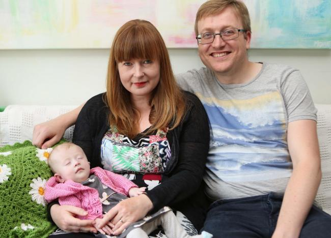 Parents to raise £15k to help unique baby with rare chromosome condition