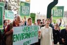 Where is the environment, Green Party's Caroline Lucas asks Labour and Tories