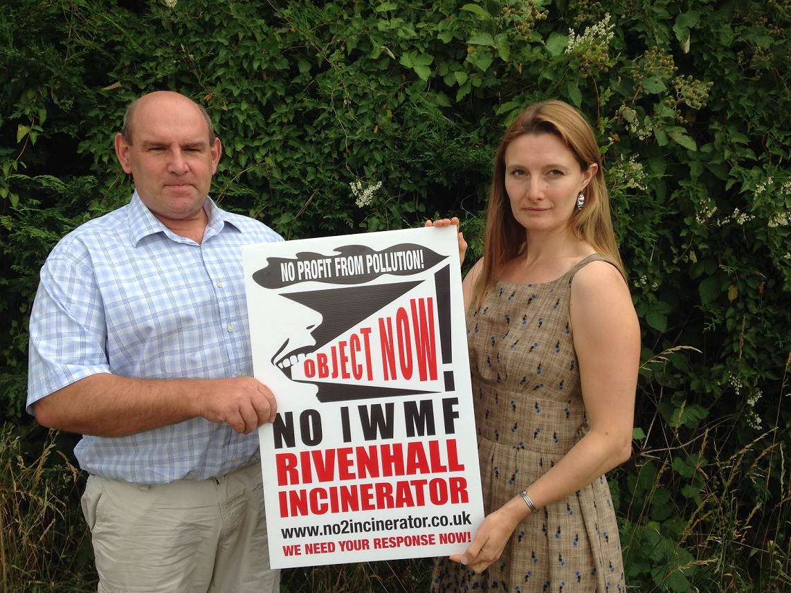 Campaigners make last push for public to have their say on plans for a controversial new incinerator in Rivenhall