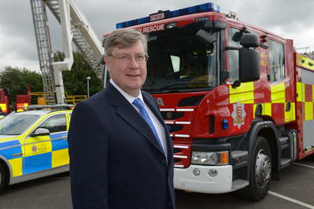 Roger Hirst, Essex police, fire and crime commissioner