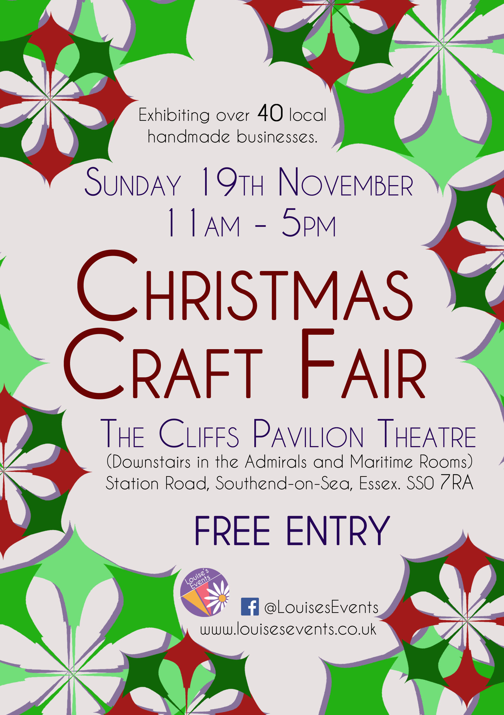 Christmas Craft Fair at The Cliffs Pavilion