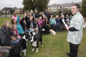 PICTURES: Blessing of village animals during returning service at church