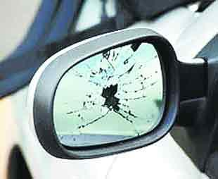 Witham: Appeal for information after wing mirrors kicked off