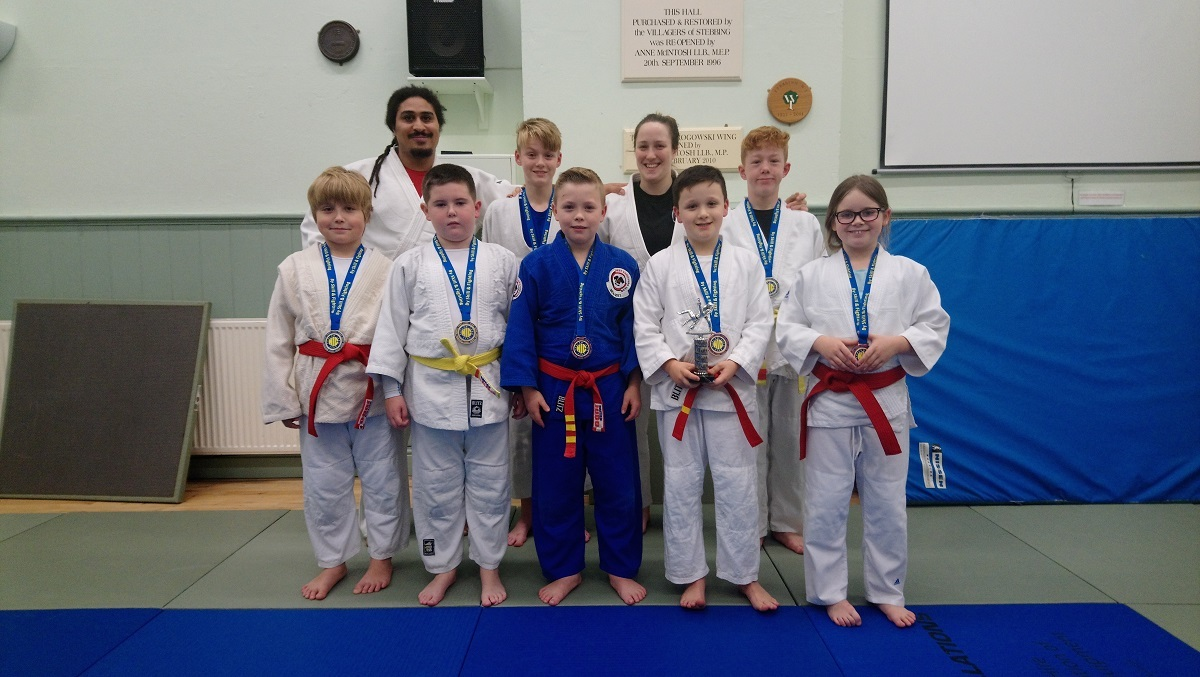 Medals: West Essex Judo Club's young players saw great success at the Harlow tournament.