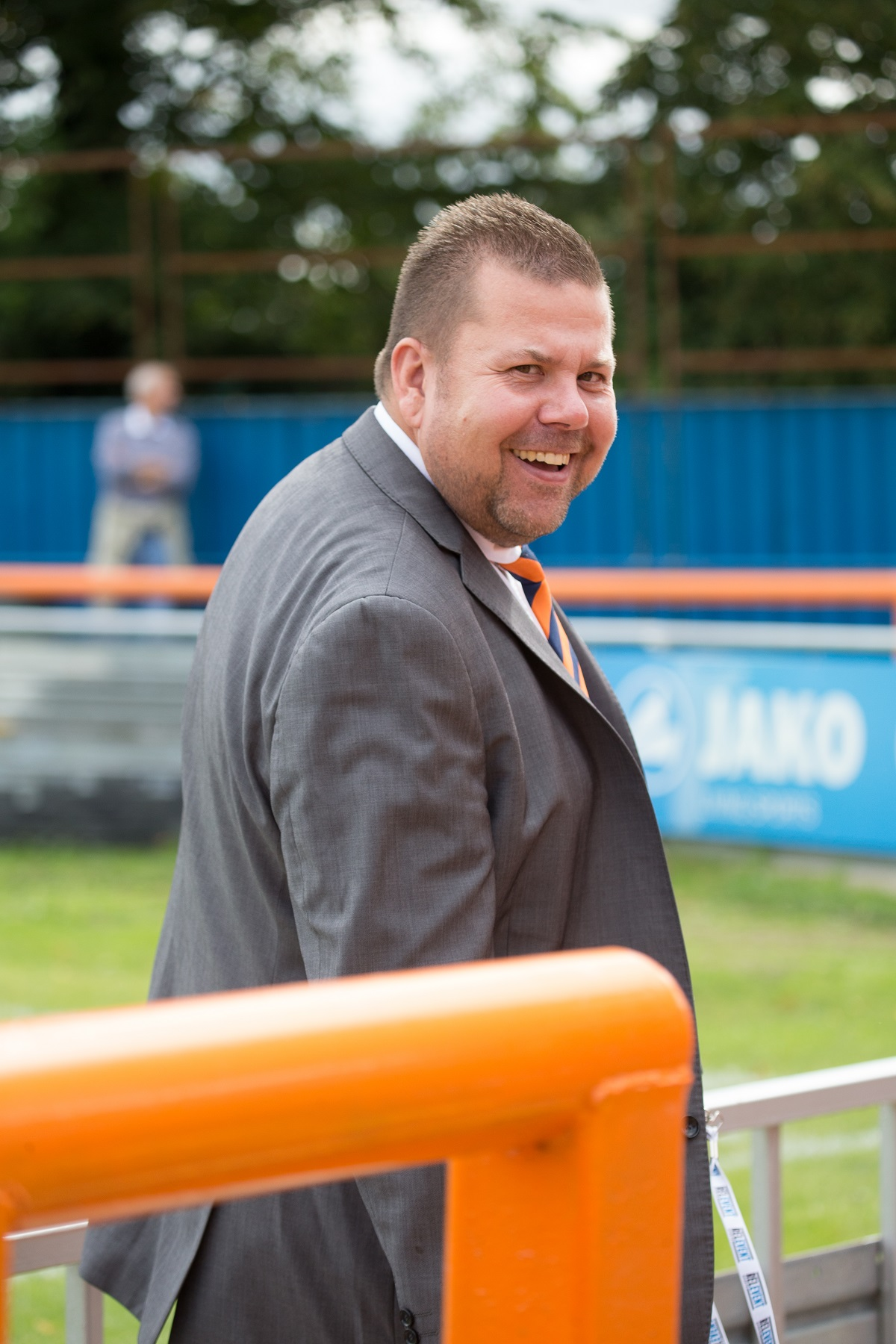 Braintree Town Academy manager Mark Sansom. Picture: Chris Jarvis