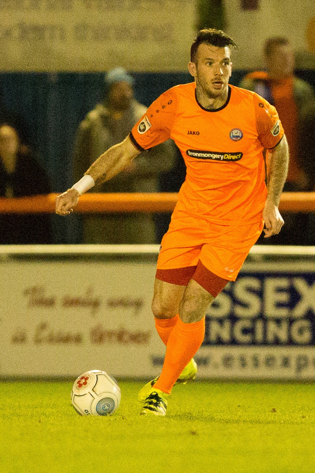 Joe Ellul returned to Braintree's starting lineup after being Cup-tied last weekend. Picture: Chris Jarvis