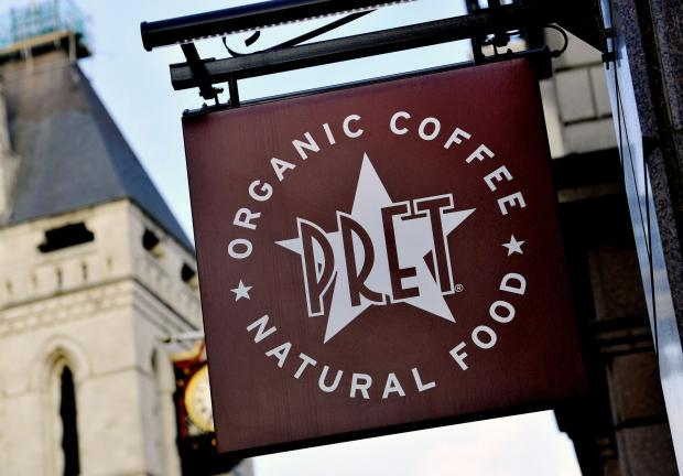 Braintree and Witham Times: CLOSED: Pret A Manger. Picture: PA Wire