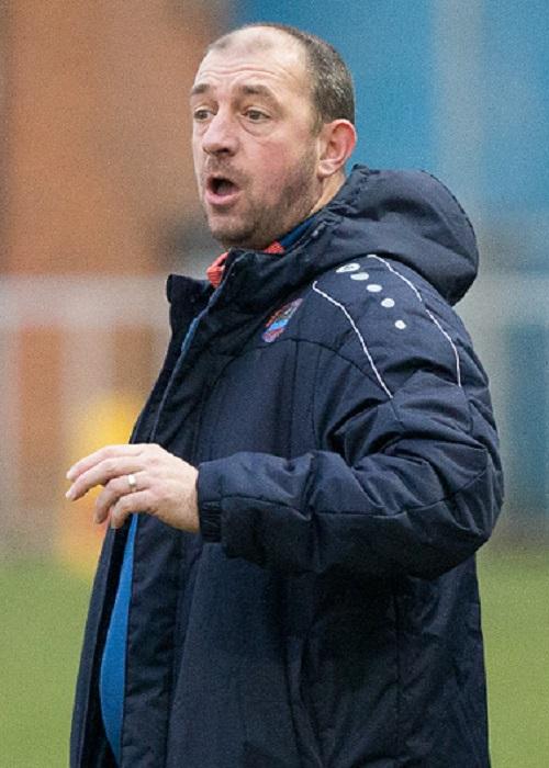 Braintree Town Reserves manager Lee Fisher. Picture: Chris Jarvis