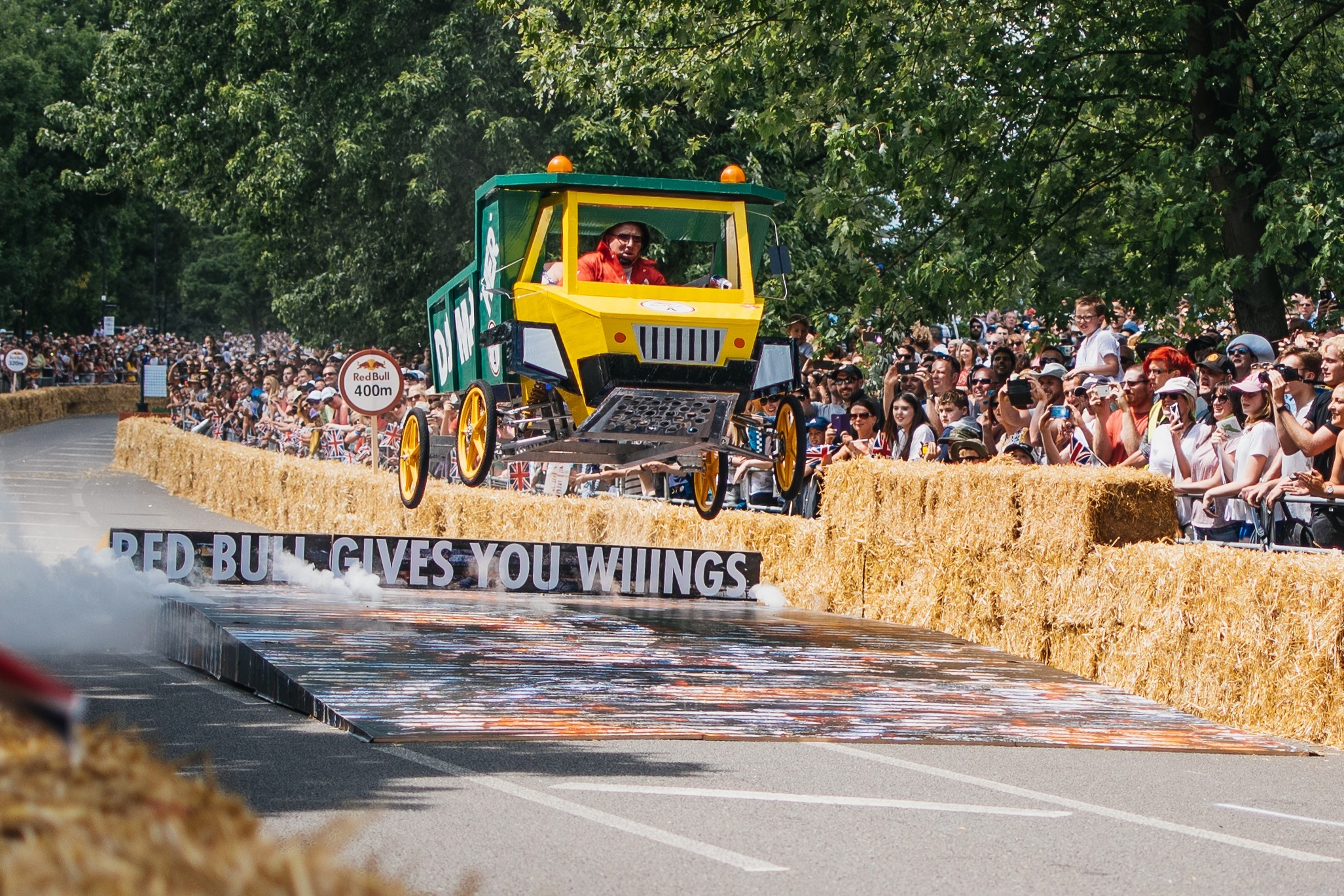 RACE: Great Dunmow Soapbox Race takes place in May