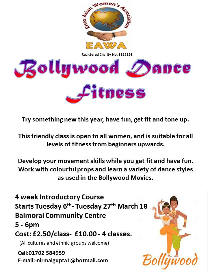 Introductory Bollywood Dance Course