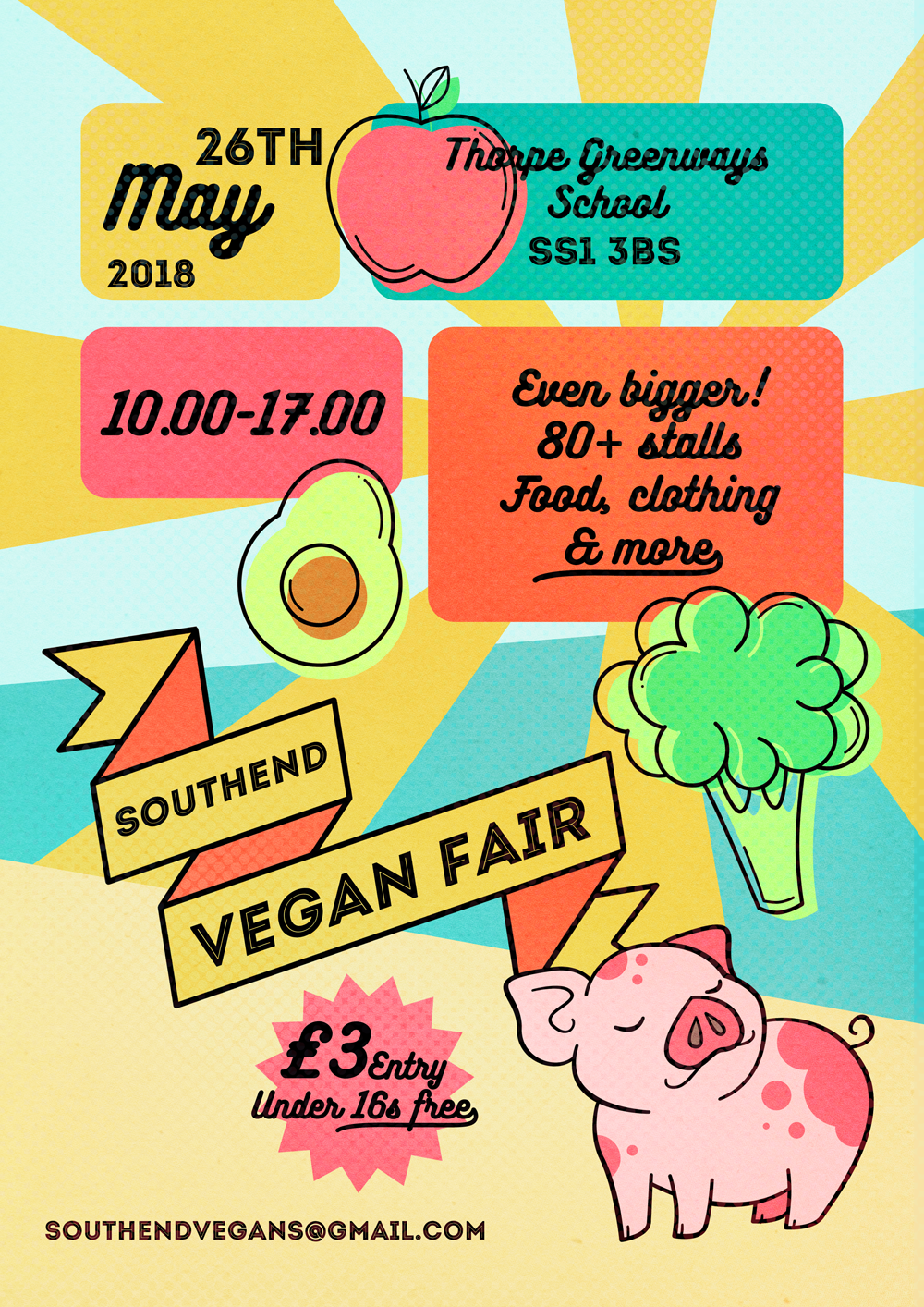 Southend Vegan Fair - Spring 2018 Edition