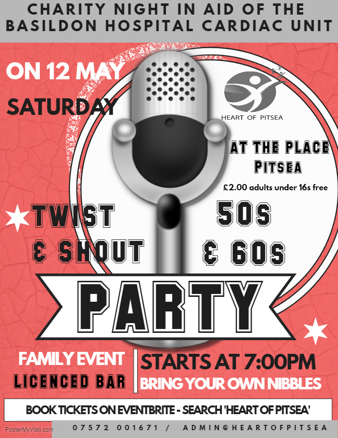 'Twist and Shout' 50s & 60s party