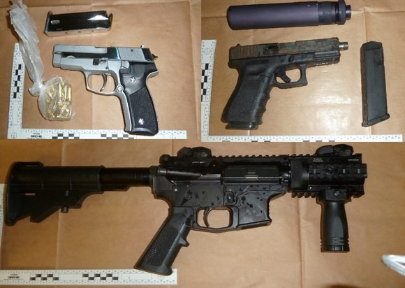 Two Essex men questioned after attempt to smuggle in huge haul of guns