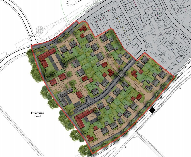PLANS: How stage two of Redrow Homes' development could look